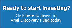 Click here to invest in Ariel Discovery Fund today