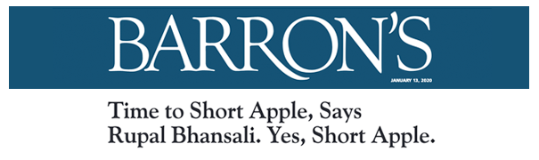 Barron's Roundtable 2020 Part 2: Time to Short Apple