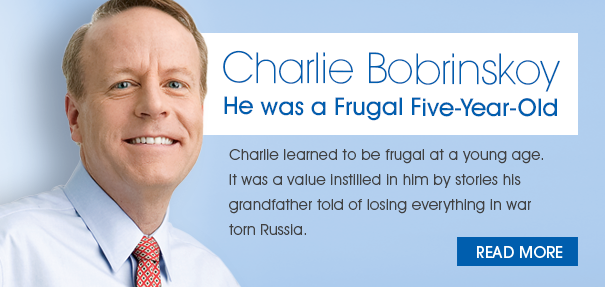 He was a Frugal Five-Year-Old