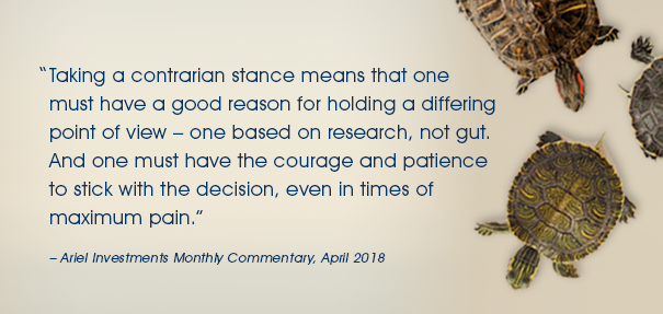 April Monthly Commentary