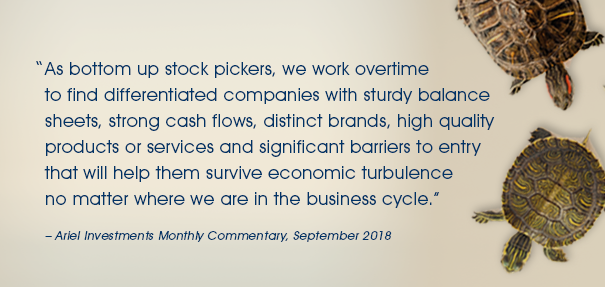 September Monthly Commentary
