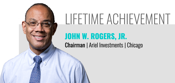 John W. Rogers, Jr. Receives InvestmentNews Excellence in Diversity & Inclusion Lifetime Achievement Award