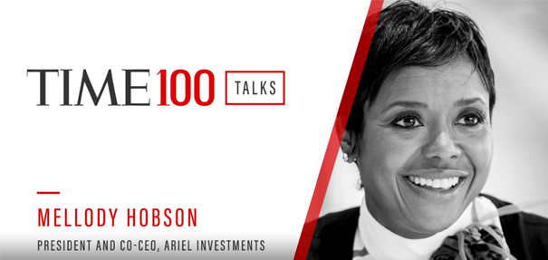 Mellody Hobson on Time 100 Talks