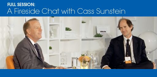 A Fireside Chat with Cass Sunstein