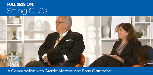 Sitting CEOs: A Conversation with Gracia Martore and Brian Gamache